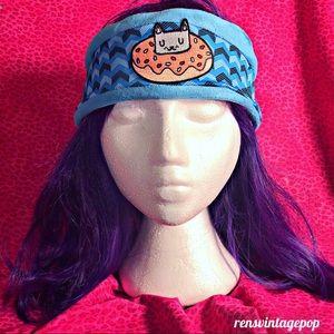 Donut Kitty Fleece Warm Headband